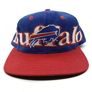 Buffalo Bills Snapback Retro Hat Logo 7